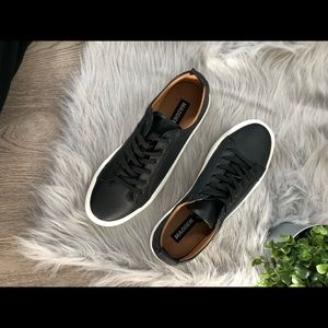 145f34fdf3c NEW Steve Madden Men Jimmy Shoe BLK Size 9 1/2